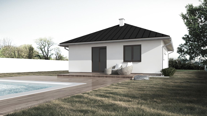 Projekt 3 izbového bungalovu