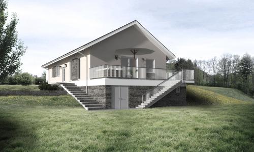 5 Izbový Bungalov Do 125 M2 Projekty Rodinných Domov A Bungalovov